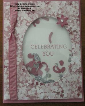 Celebrate YOu Shaker Card