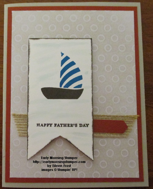 Happy Father's Day Sailboat
